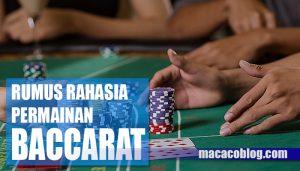 Rumus Martiangle Baccarat Online Untuk Memaksimalkan Kemenagan